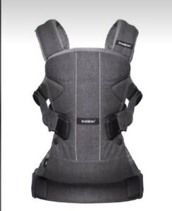 Baby Bjorn one carrier in grey