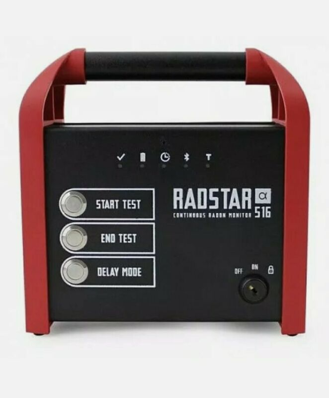 RadStar Alpha a516 516 Continuous Radon Monitor