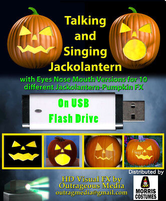 The Talking and Singing Jackolantern  GIFT CERTIFICATE FOR (Digital Gift Certificates)