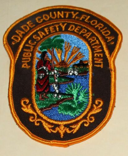 DADE COUNTY PUBLIC SAFETY DEPT Florida FL PSD FLA POLICE patch