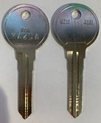 Curtis MZ-18 Uncut Key Blank  MAZDA 5 PACK