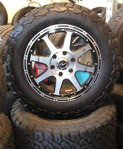 """18"""" Koya XJ Alloys And Tyres To Suit Some 4WD's Toowoomba Toowoomba City Preview"""