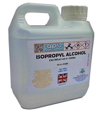IPA Isopropyl Alcohol 99.9% Pure 10 Litre (10L)