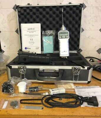 Rae Systems Pgm-7240 Ppbrae Plus Voc Isobutylene Gas Detector