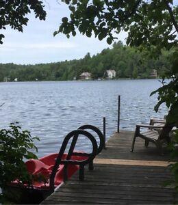 ❤️chalet à louer bord de lac POUR REPOS promo 11 au 15 juin ❤️