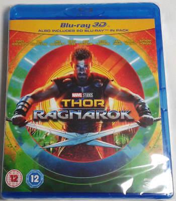 Thor Ragnarok 3D   2D Blu Ray Brand New Free Shipping