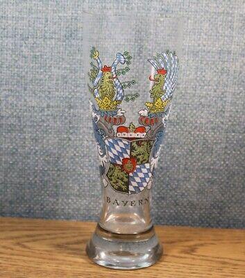 German Beer Tall Glass 9