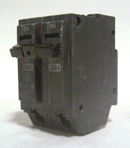 GE 30 AMP Circuit Breaker Double Pole Breaker Switch General Electric THQL2130