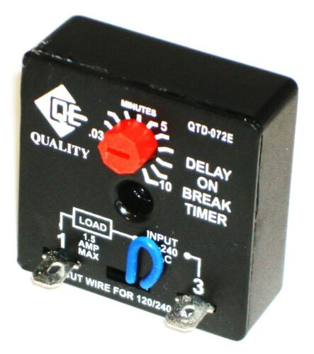RELAY,TIME DELAY  QTD-072E