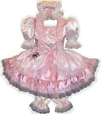 Little Miss Muffet CUSTOM Fit Satin Dress Bloomers Cap Spider Costume - Little Miss Muffet Kostüm