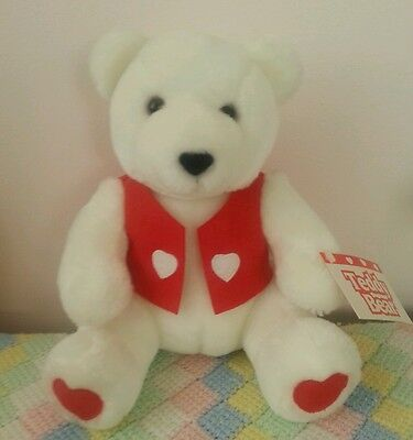 Hallmark Valentine Bear ~ Plush~ New