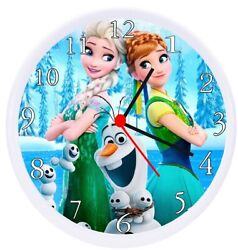 Frozen 2 Olaf Wall Decor Clock