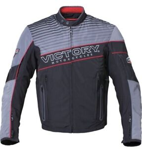 "VICTORY MOTORCYCLES  TEXTILE JACKET - SIZE XXL ""NEVER WORN"""
