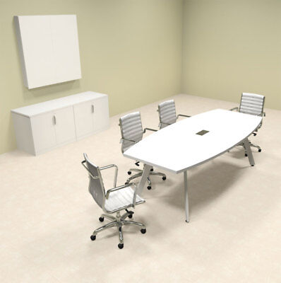 Modern Boat Shaped 8 Feet Conference Table Of-con-cv1