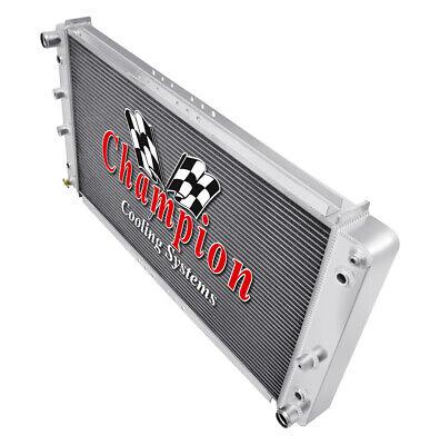 3 Row Supply Champion Radiator for 1994 1995 1996 Cadillac Fleetwood V8 Engine 1995 Cadillac Fleetwood Radiator