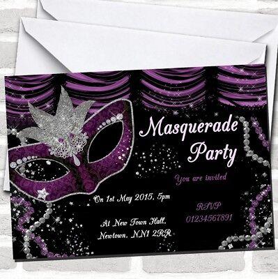 Masquerade Purple Birthday Party
