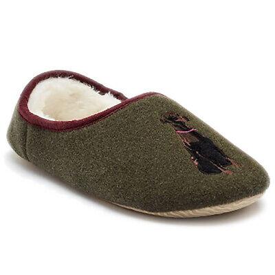 Womens Joules Slippet Felt Character Mules Winter Cosy Luxury Slippers UK 3-8
