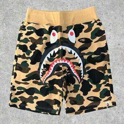 BAPE by A Bathing Ape 1st Camo Shark WGM Sweat Shorts