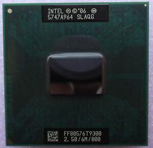 Intel Core 2 Duo SLAQG 2.50GHz 6M 800MHz  CPU Socket P 478 pin