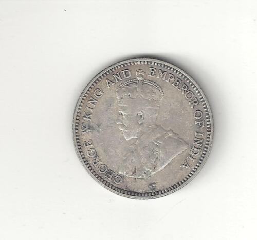 1935  British Guyana  four Pence  Silver  Scarce Mintage 36,000