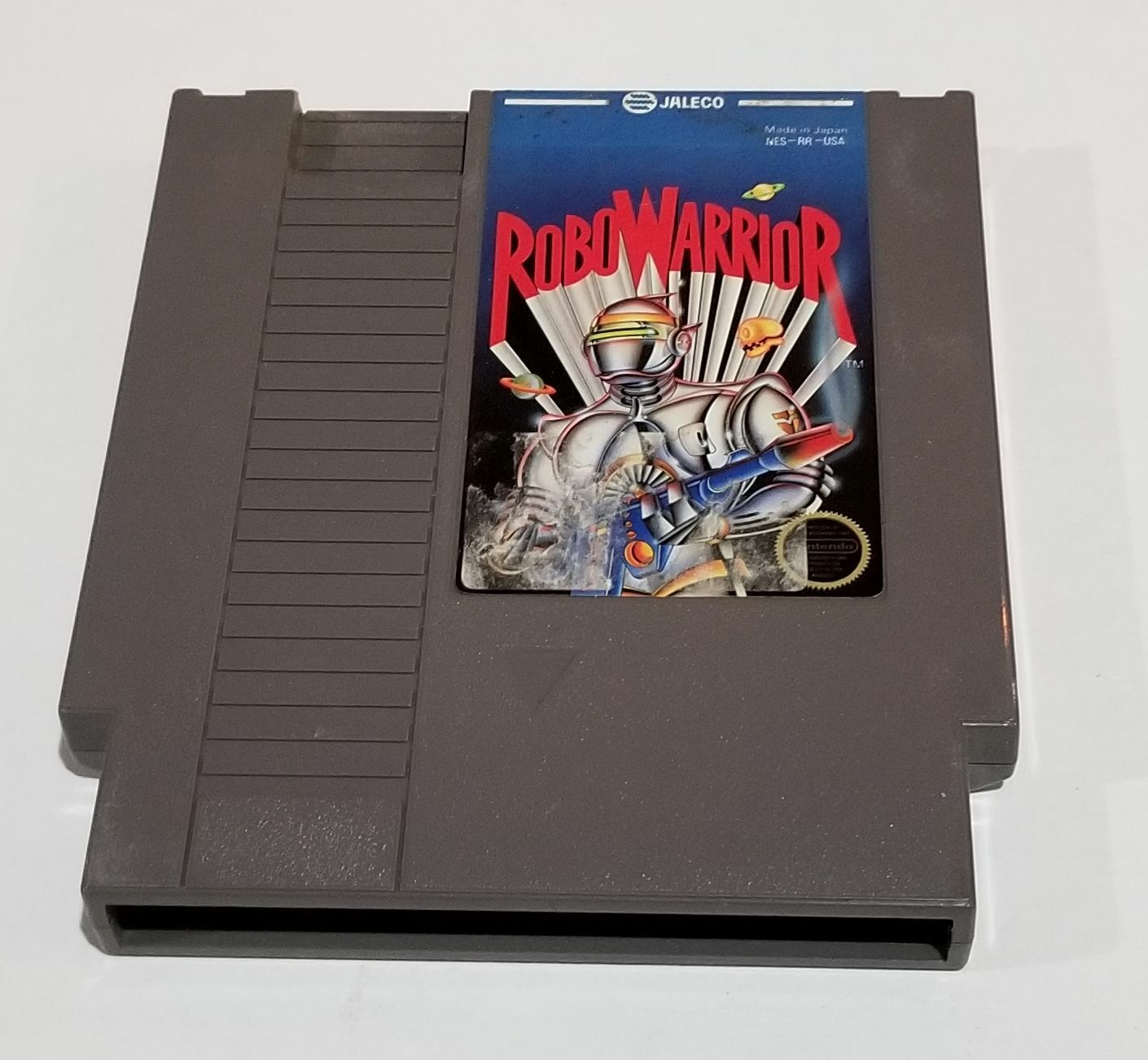 RoboWarrior Nintendo Entertainment System, 1988  - $3.99