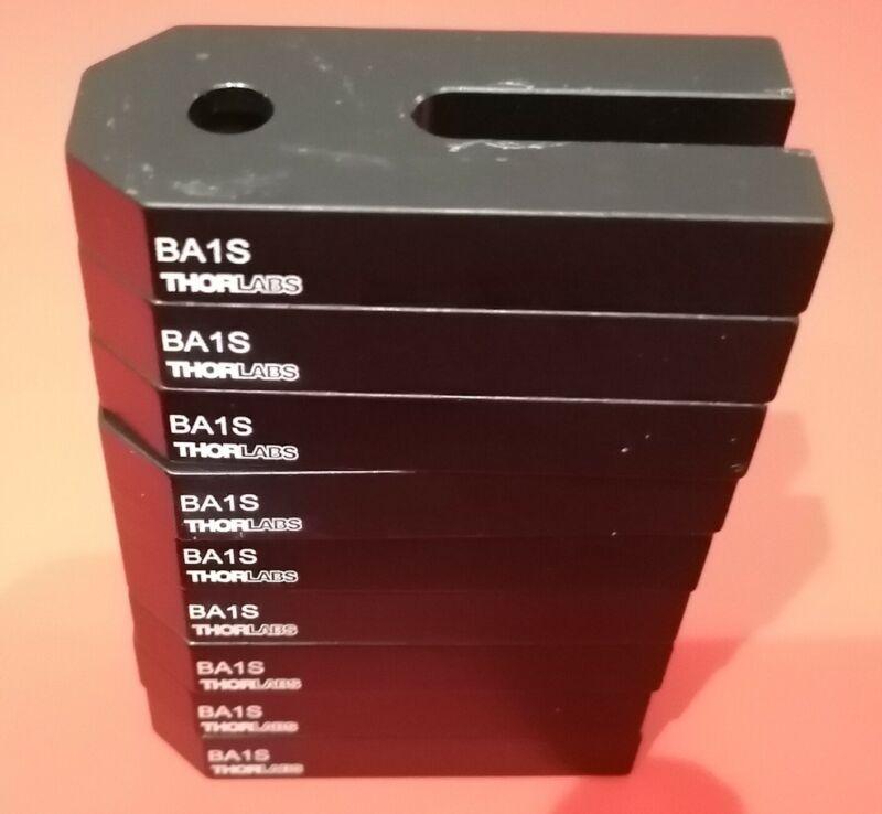 "(9) BA1S - Mounting Bases, 1"" x 2.3"" x 3/8"""
