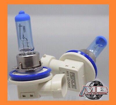 PERDE H11 55W Halogen Light Bright White Car Headlight Bulbs Bulb Lamp 12V 6000K