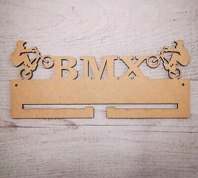 BMX medal hanger holder rack Mdf, Craft comprar usado  Enviando para Brazil