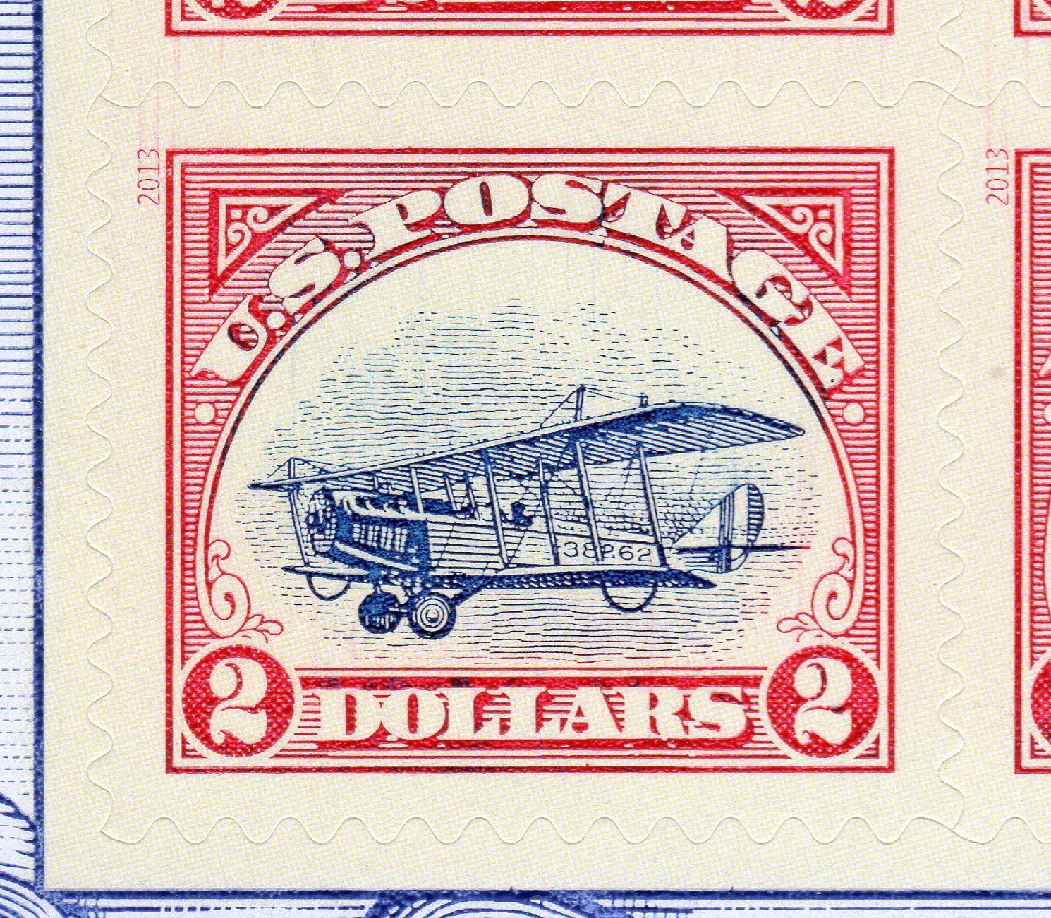 US # 4806d (2013) $2(x6) MNH - S98 w/PSE Cert- Un- INVERTED CENTER - Rare/Scarce