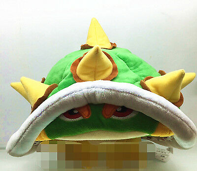 Super Mario Bros Bowser Stuffed Plush Hat Halloween Costume Christmas - Super Mario Bowser Halloween Costume