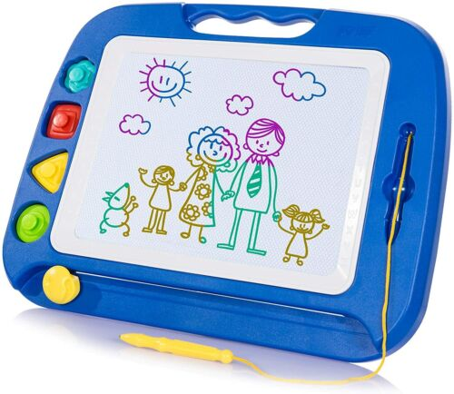 Magnetic Drawing Board Toy Large Doodle Draw Writing Kids Children Creativity