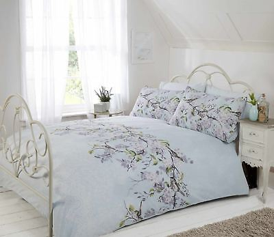 Eloise Floral Blossom Duvet Cover Quilt Cover Set Bedding