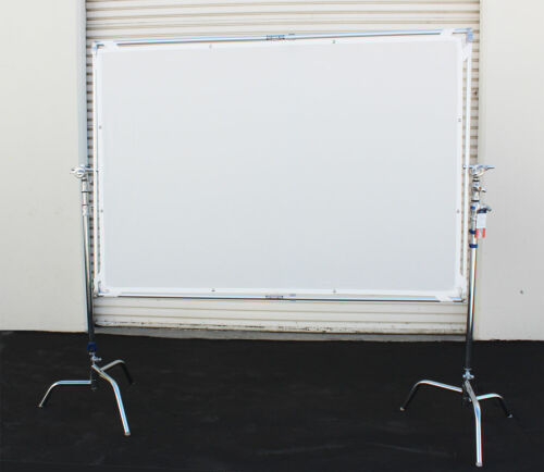 "55x79"" Flat Panel Light Reflector Photo Studio White/Silver"