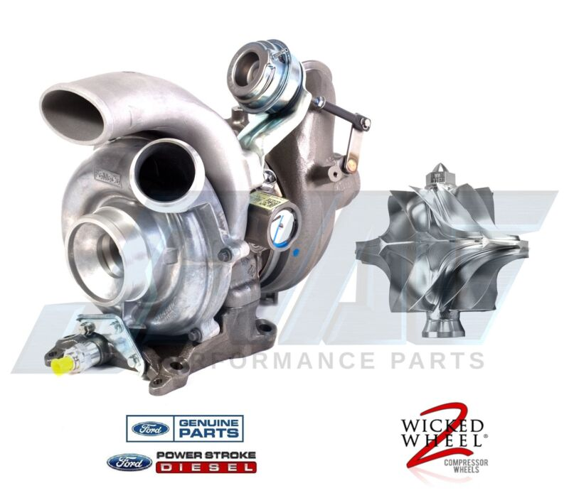 Genuine Oem Replacement Turbo With Installed Wicked Wheel