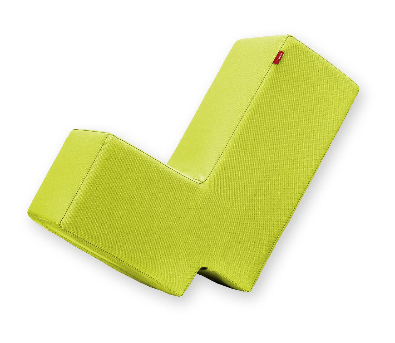 Lümmel Polsterhocker - Lounge- & Spielmöbel für Kinder / Erwachsene - hellgrün