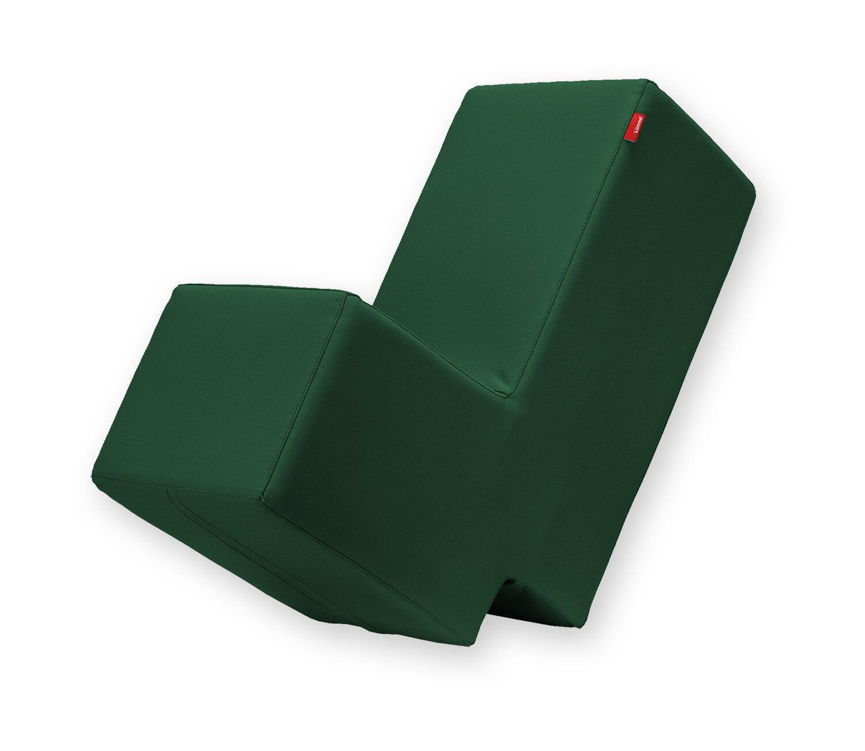 Lümmel Polsterhocker - Lounge- & Spielmöbel für Kinder / Erwachsene - dunkelgrün