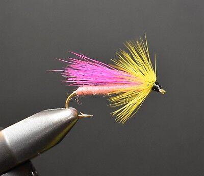 One Dozen Fishing Flies Streamer 12 Select size BH Krystal Bugger Pearl