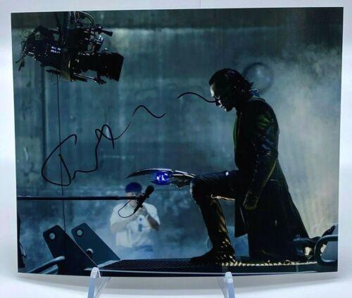 Tom Hiddleston LOKI Signed 10x8 Photo ACOA Certified