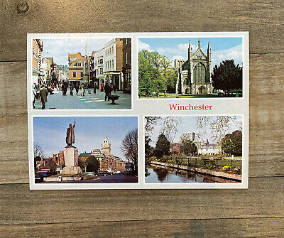 """Winchester Scenic Postcard 6"""" x 4"""" British UK Unposted Judges Of Hastings 420919"""