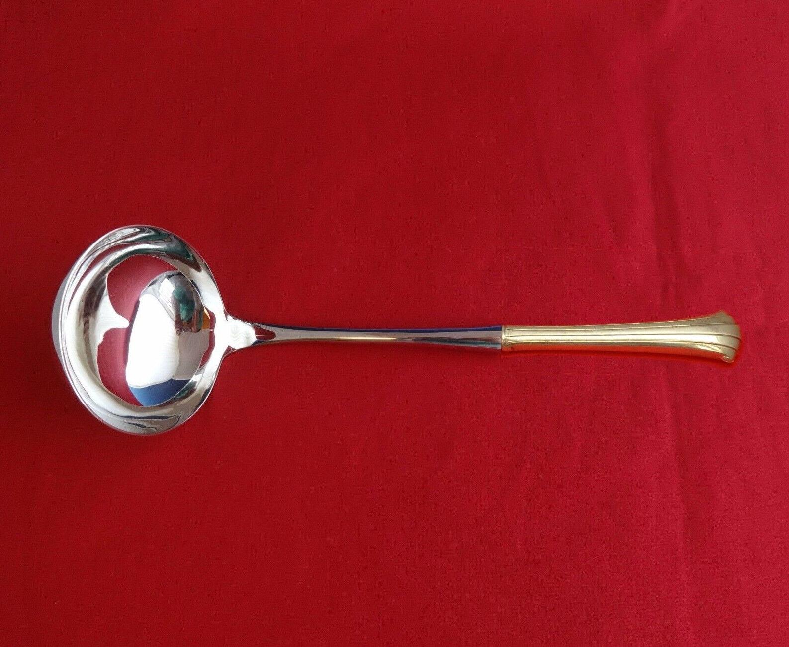 "Strasbourg by Gorham Sterling Silver Soup Ladle 10 1//2/"" HHWS  Custom"