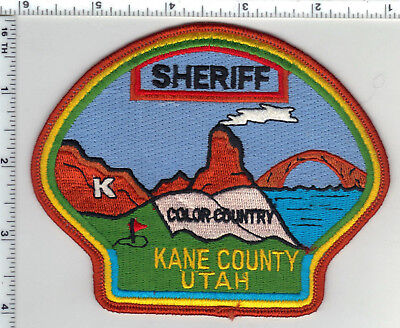 Kane County Sheriff (Utah) Shoulder Patch from the 1980's