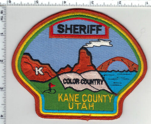 Kane County Sheriff (Utah) Shoulder Patch from the 1980