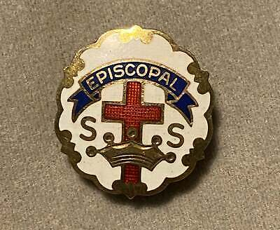 1-3//4 Cathedral Art Proud Military Mom Metal Pin