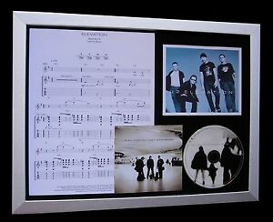 U2-Elevation-LTD-NOD-QUALITY-CD-FRAMED-DISPLAY-EXPRESS-GLOBAL-SHIP