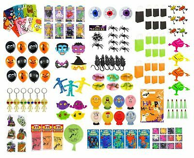 PARTY BAG FILLERS HALLOWEEN Favor Bag Pinata Toy Filler Kids Trick or Treat UK - Halloween Goody Bags Uk
