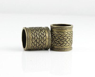 Bronze 4 (4 Großlochperlen