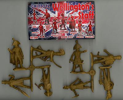 Chintoys 1/32 WELLINGTON'S GENERAL STAFF Figure Set