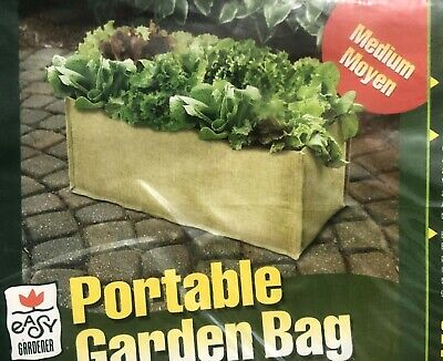 Portable Garden Bag ~Fresh Vegetables & Herbs at your fingertips ~ 21.5'X12