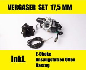 Vergaser 17,5 mm Piaggio SFERA NSL ZIP SSL TPH NRG FREE ET2 LX50 TUNING SPORT