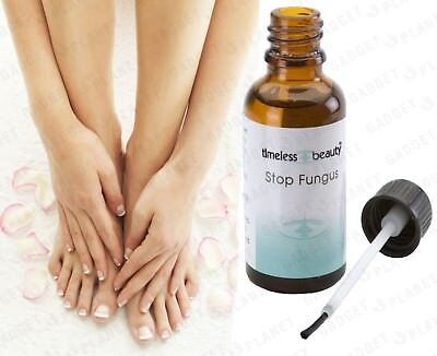 STOP FUNGUS Nice Nails Toe Finger Nail Anti Fungal Bacterial Treatment Oil 30ml